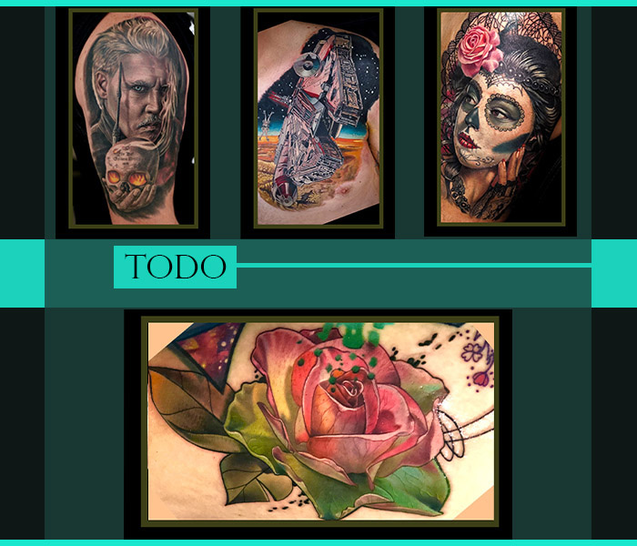 Tattoos by Todo